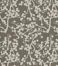Home Decor 8\u0022x8\u0022 Fabric Swatch-Cherries Charcoal