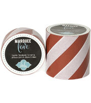 "Heidi Swapp Marquee Love Washi Tape 2""-Red Stripe, 9', , hi-res"