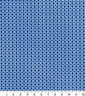 Quilters Showcase Cotton Fabric-Geo Blue