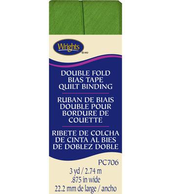 Double Fold Quilt Binding 3 Yd Kiwi