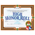 Hayes High Honor Roll Certificate, 30 Per Pack, 6 Packs