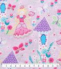 Novelty Cotton Fabric-Blonde Princess