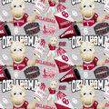 University of Oklahoma Sooners Cotton Fabric-Collegiate Mascot
