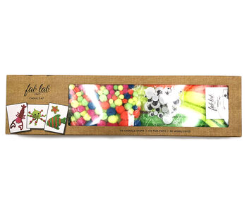 Fab Lab Craft Chenille Value Pack-Neon