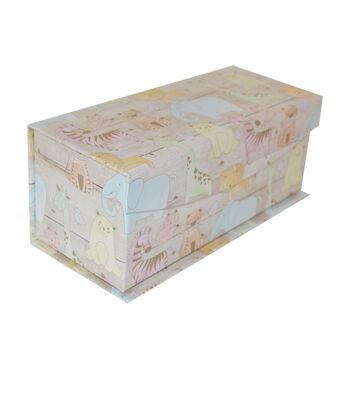 Organizing Essentials X-Small Fliptop Storage Box-Junior Jungle