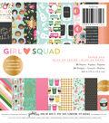 PeBubblees Single-Sided Paper Pad 6\u0022X6\u0022-Girl Squad