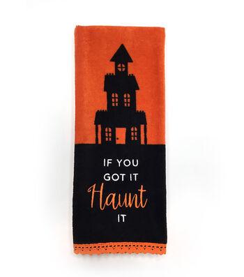 Maker's Halloween 16''x28'' Towel-If You Got it Haunt it