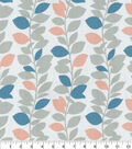 Home Essentials Decor Fabric-Leaf Garland Quartz