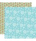 Santa\u0027s Workshop Double-Sided Cardstock 12\u0022X12\u0022-Let It Snow