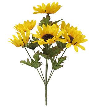 Blooming Autumn 15'' Sunflower Bush-Yellow