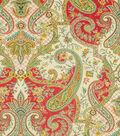 Waverly Print Fabric 54\u0022-Lyrical Legend/Radish