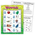 Vowels Learning Chart 17\u0022x22\u0022 6pk