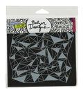 Crafter\u0027s Workshop Julie Fei-Fan Balzer Stencil-Shattered Triangles