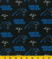Carolina Panthers Fleece Fabric 58