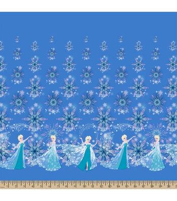 "Disney® Frozen Mock Smock Fabric 21""-Elsa and Snowflakes"