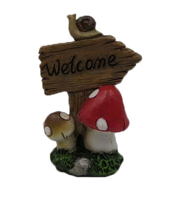 Bloom Room Littles Resin Sign-Welcome
