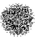 The Crafter\u0027s Workshop Carmen Medlin 6\u0027\u0027x6\u0027\u0027 Stencil-Jasmine Spray