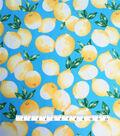 Smocked Dressing Rayon Fabric 30\u0022-Lemons