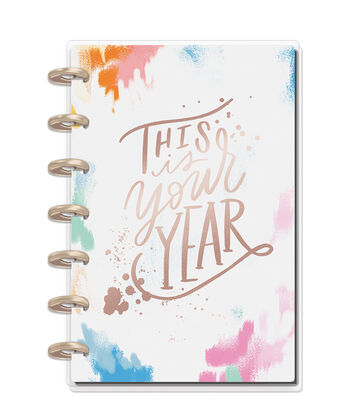 The Happy Planner Mini Dated Planner-Brushy Brights