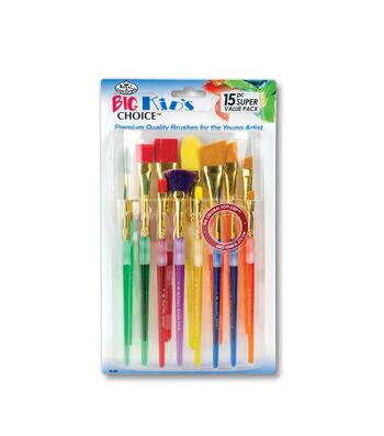 Royal Langnickel 15pc Big Kids Brush Set