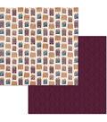 BoBunny Stay Awhile 25 pk 12\u0027\u0027x12\u0027\u0027 Double-Sided Cardstock-Home