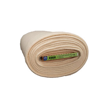 """Pellon Needle Punched Fusible Cotton Batting 60"""" x 10 yd Board"""
