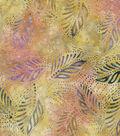 Leafy Pink Batik