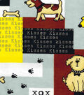 Snuggle Flannel Fabric -Dog Patch