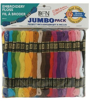 Janlynn Value Pack Cotton Embroidery Floss