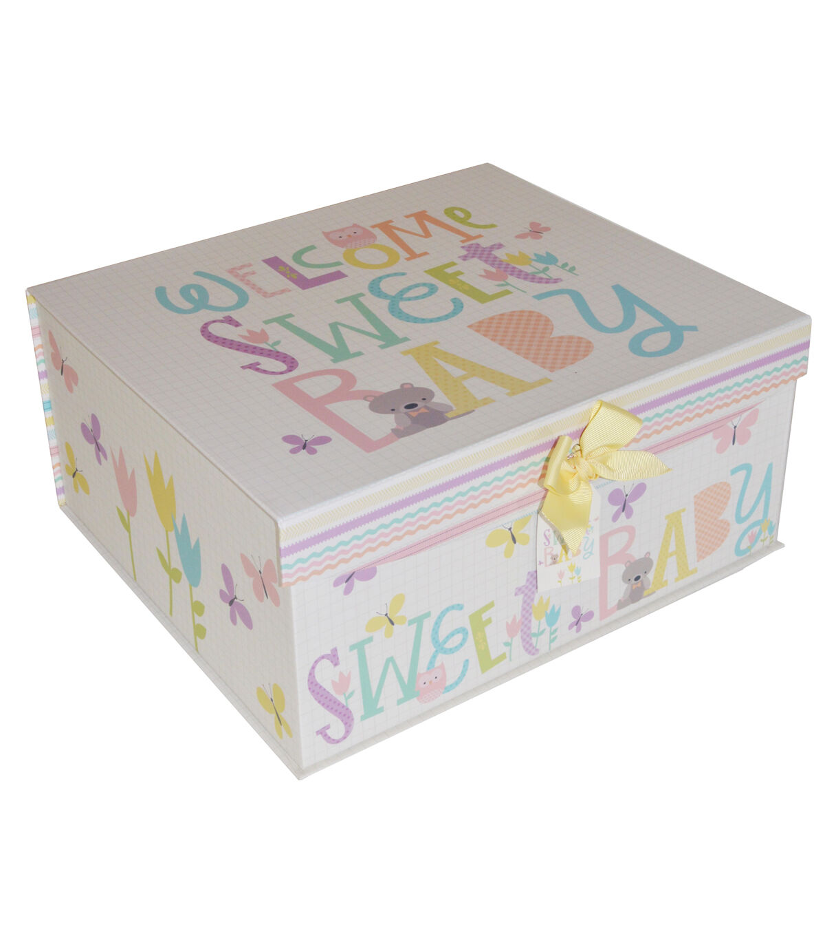 Organizing Essentialsu0026#8482; Large Trunk Welcome Sweet Baby