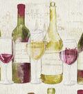 Anti-Pill Fleece Fabric -Wine Tasting