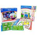 Math File Folder Game, Grade Kindergarten, 16 Games, 20 Sheets of Cards