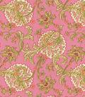 Home Decor 8\u0022x8\u0022 Fabric Swatch-Waverly Faith/Rosewater