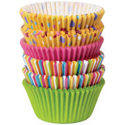 Wilton Sweet Dots and Stripes standard Baking Cups 150ct, , hi-res