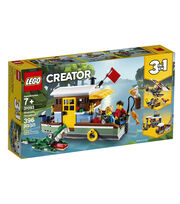 LEGO Creator 3-in-1 Riverside Houseboat Set, , hi-res
