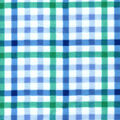 Snuggle Flannel Fabric-Blue & Green Plaid