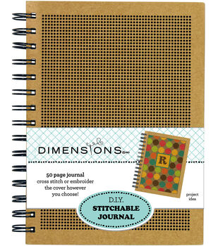 Dimensions 6'' x 8'' DIY Stitchable Journal