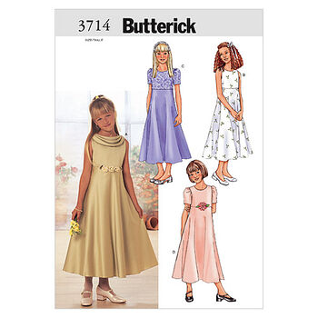 Butterick Girls Special Occasion-B3714