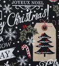 Christmas Cotton Fabric-Season\u0027s Greetings