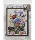 Design Works Crafts 14\u0027\u0027x19\u0027\u0027 Counted Cross Stitch Kit-Bouquet with Cat
