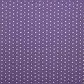 Super Snuggle Flannel Fabric-White Dot on Paisley Purple