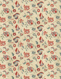 Home Decor 8x8 Fabric Swatch-Jaclyn Smith Allusive Punch