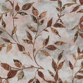 Keepsake Calico Cotton Fabric-Brown Vintage Leafy Vine