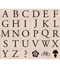 Hero Arts Rubber Stamp Set-Garamond Letters