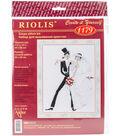 RIOLIS 7.75\u0027\u0027x10.25\u0027\u0027 Counted Cross Stitch Kit-Wedding Tango