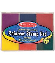 Melissa & Doug Rainbow Stamp Pad, , hi-res