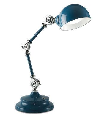 OttLite Parker Table Lamp-Dark Blue