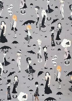 Halloween Cotton Fabric-Going Goth