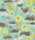 Waverly Print Fabric 54\u0022-Lotus Lake/Pool