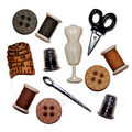 Jesse James Dress It Up Button Embellishments-Sewing Room